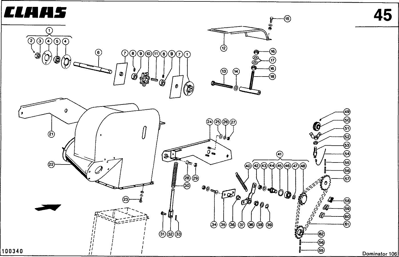 0006087160 Приводная роликовая цепь 10A-1,40